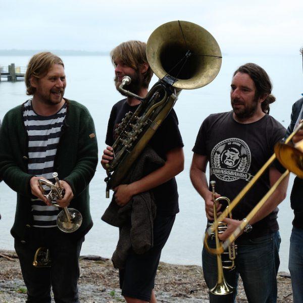 Unterwegs mit La Brass Banda - besser geht's kaum!