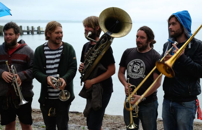 Spezltour durchs Chiemgau – mit La Brass Banda