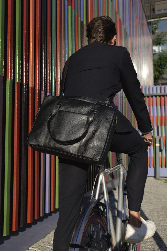 Die Tasche ist auch was für Radfahrer wie mich