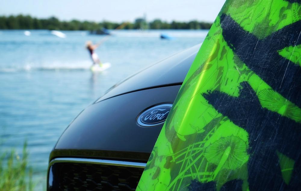 Auto für Aktive: Ich war damit beim Wakeboarden