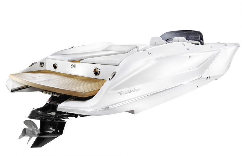 Luxuriöser Day Cruiser: Frauscher 858 Fantom Air