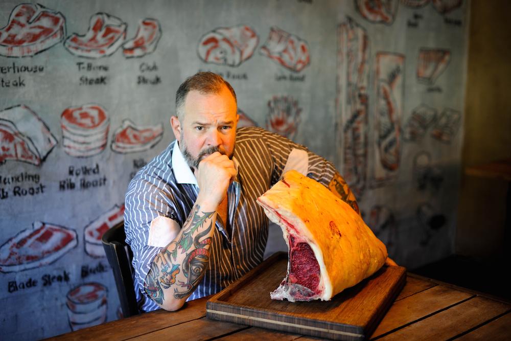 Ein Mann, der sich dem Fleisch verschrieben hat: Patrick Bertermann