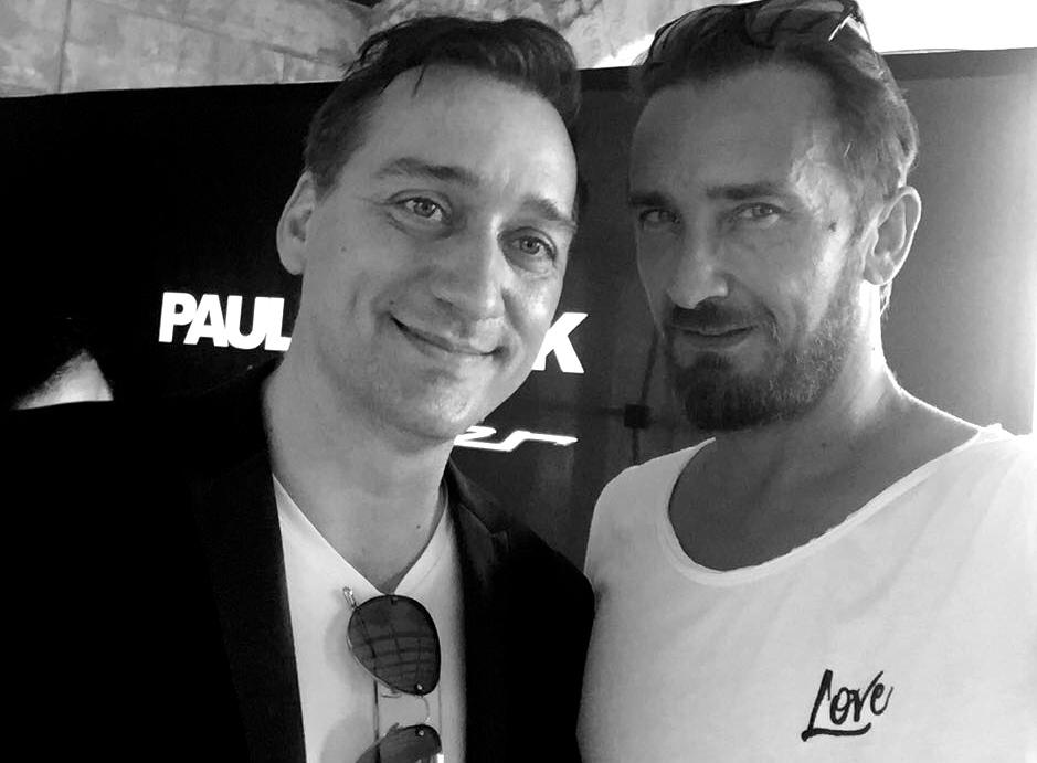 Dieses Selfie mit Paul van Dyk musste einfach sein :-)