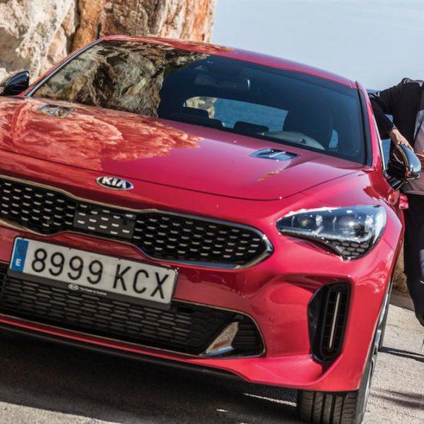 Paul Van Dyk präsentiert auf Mallorca den neuen Kia Stinger