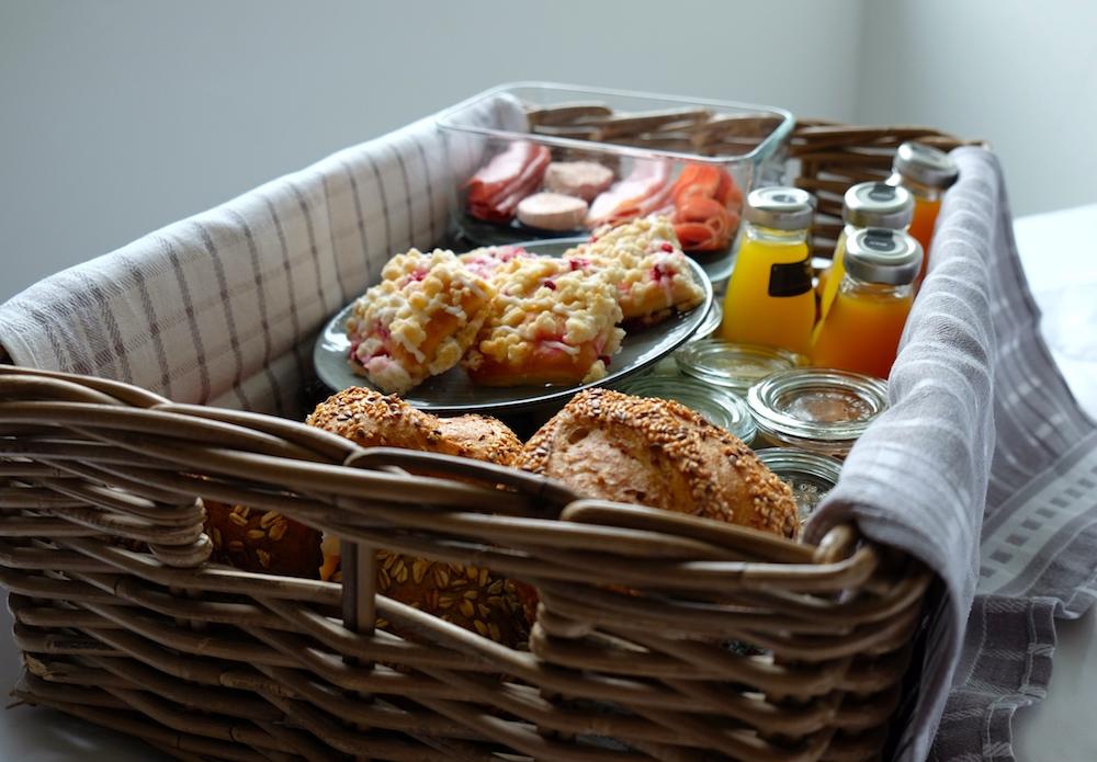Frühstück ist da!