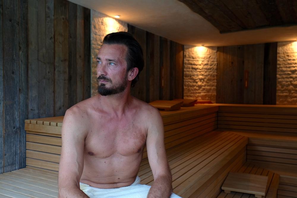 Sauna-Vergnügen im SPA des zughörigen Hotels