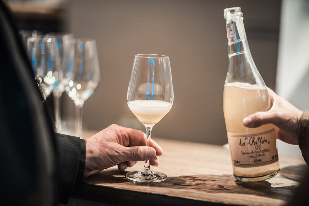 Köstlicher Schaumwein vom toskanischen Weingut La Vialla
