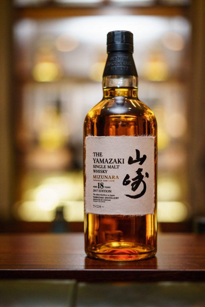 Das Top-Pprodukt aus dem Hause Suntory: der Yamazaki Whisky aus dem Mizunara Fass