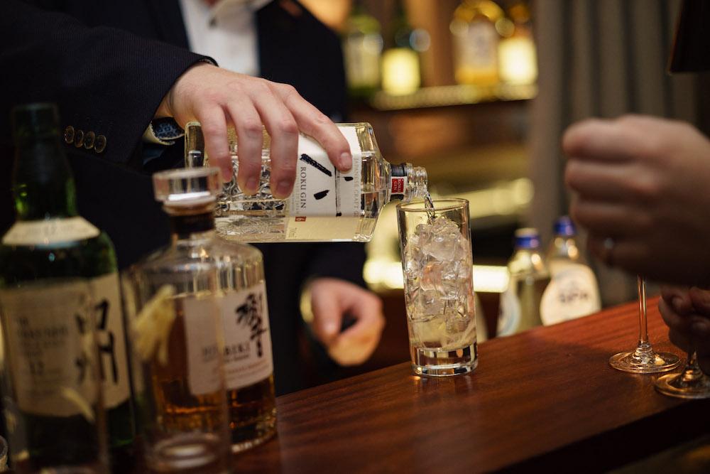 Auch der Roku Gin ist eine Offenbarung...