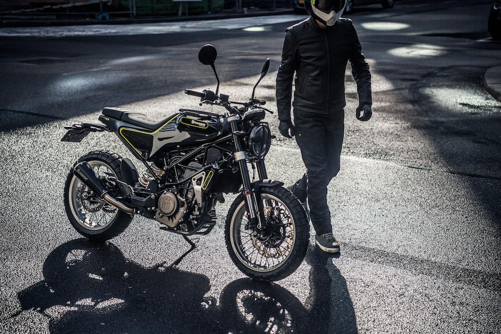 Ein Traum von einem Bike: die Husqvarna Svartpilen