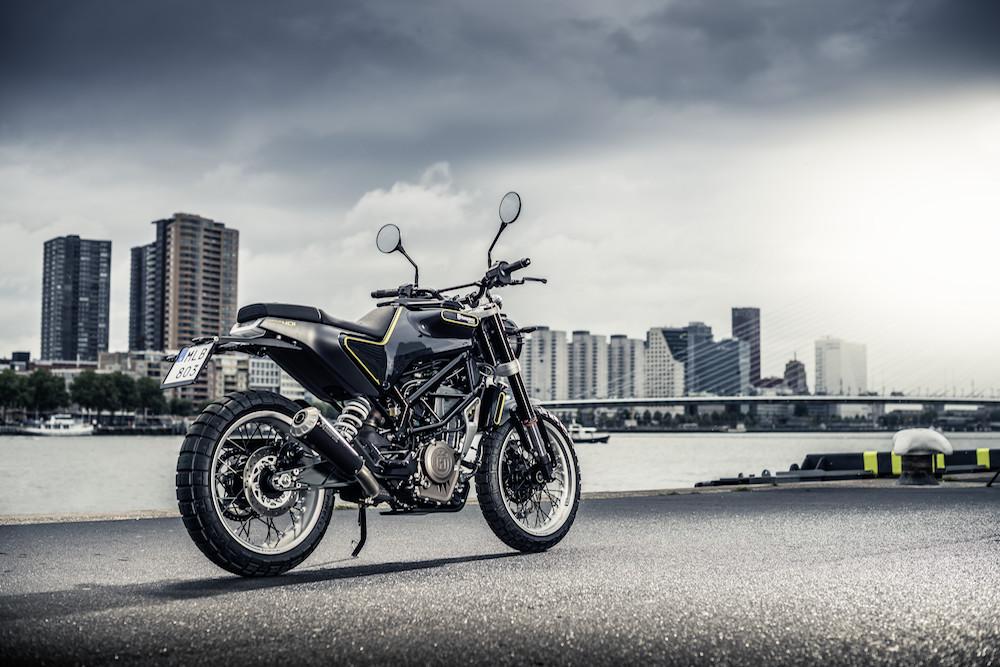 Definitv ein It-Piece: die Husqvarna Motorcycles Svartpilen