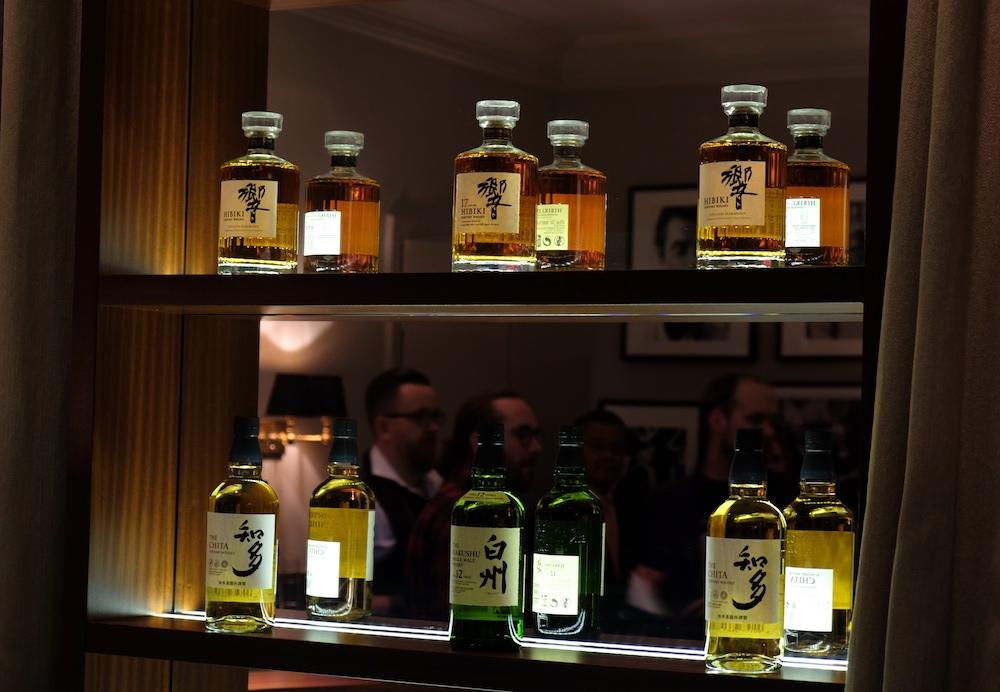 Für jeden Geschmack was dabei - das Suntory Whisky Portfolio