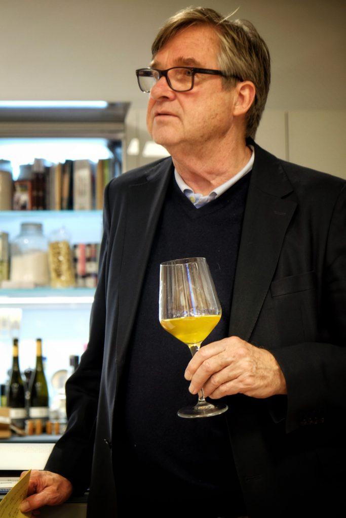Jens Priewe ist ein leidenschaftlicher Weintrinker