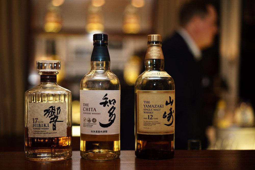 High End Whisky aus Japan von Suntory