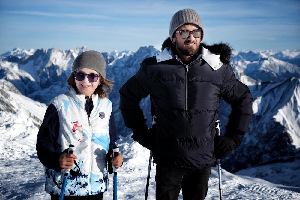 Chic im Schnee mit Vilebrequin
