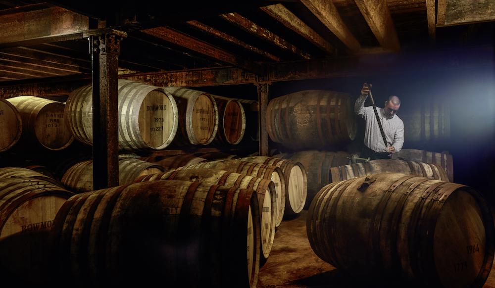 Bowmore 26 Year Old Wine Matured in Bourbon-Fässern