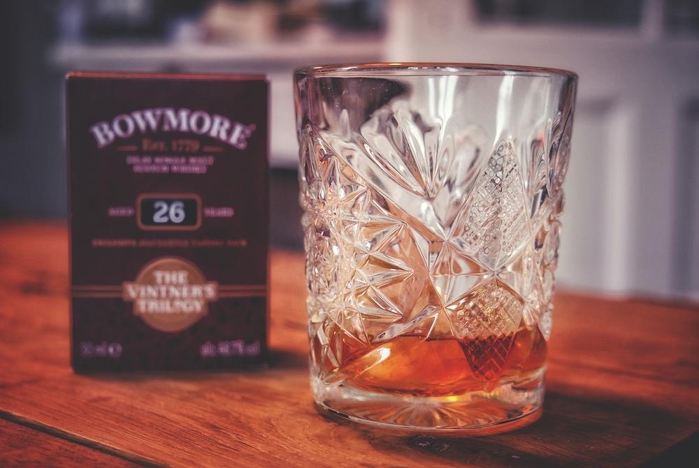 Bowmore Whisky im Glas