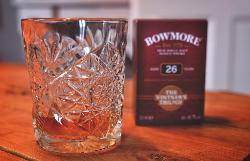 Flüssiges Gold: 26 Year Bowmore Islay Single Malt Whisky
