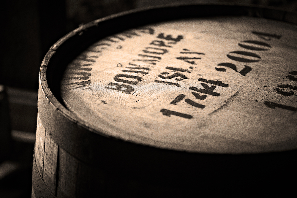 Bowmore Whisky im Fass