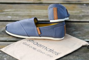 Get one, give one: <br>Schuhe von Shoemates</br>