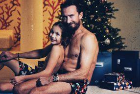Jingle Bells: Weihnachts-Badehose von Vilebrequin
