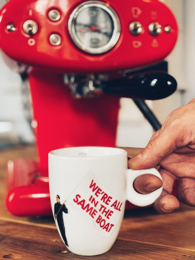 Marina Abramovic Illy Kaffeetasse