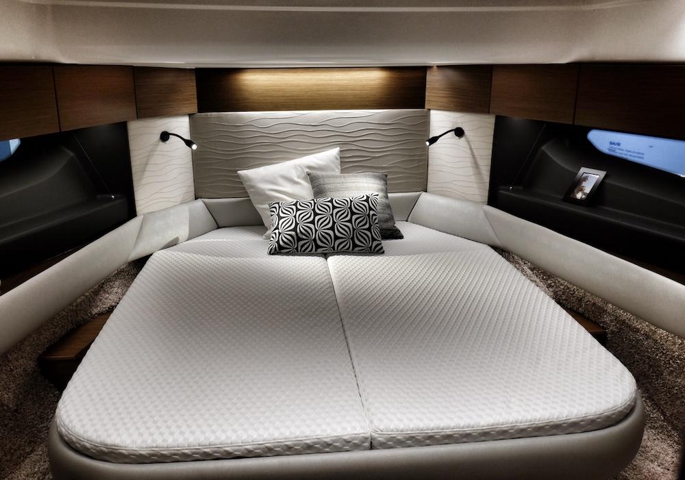 Stilsicher schlafen an Bord