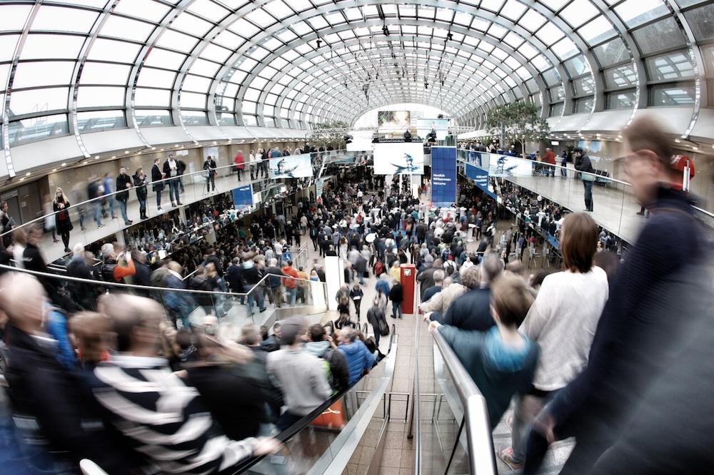 Die boot Düsseldorf ist weltweit größte Boots- und Wassersport-Messe