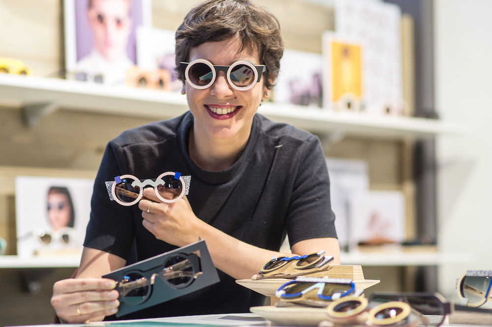 Macht die coolsten Brillen: Nina Mûr aus Spanien
