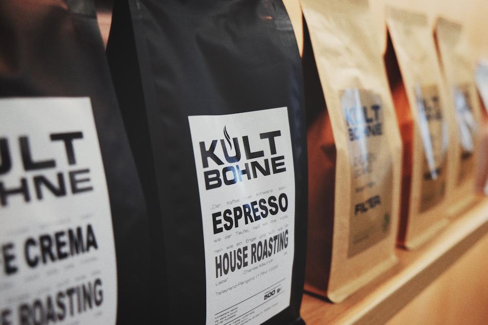Kultbohne Kaffee Packungen