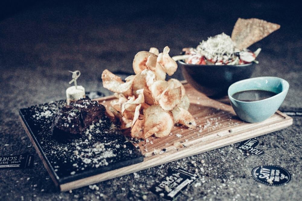 Super lecker: das Steak im Mama Thresl