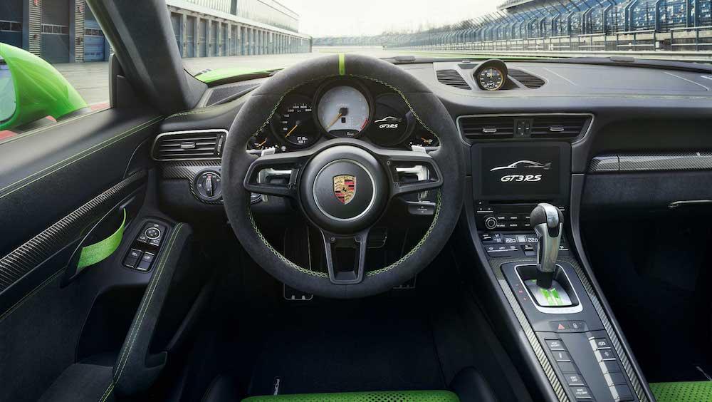 Cockpit des GT3 RS