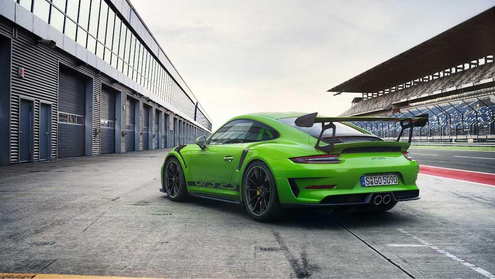 Porsche 911 GT3 RS von hinten