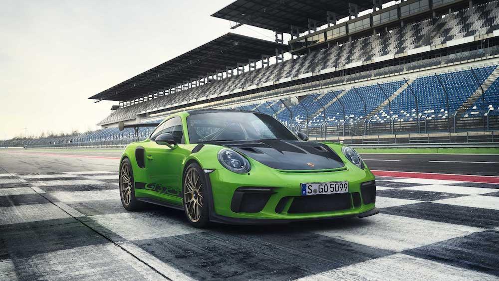 Porsche 911 GT3 RS auf Rennstrecke