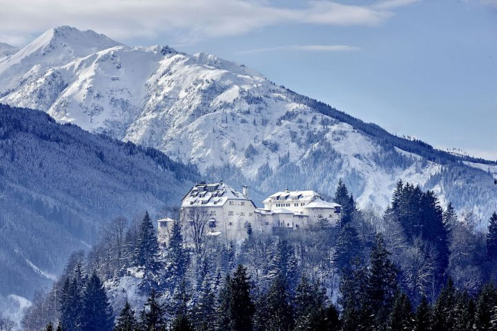 Schloss Mittersill liegt wunderschön im Oberpinzgau