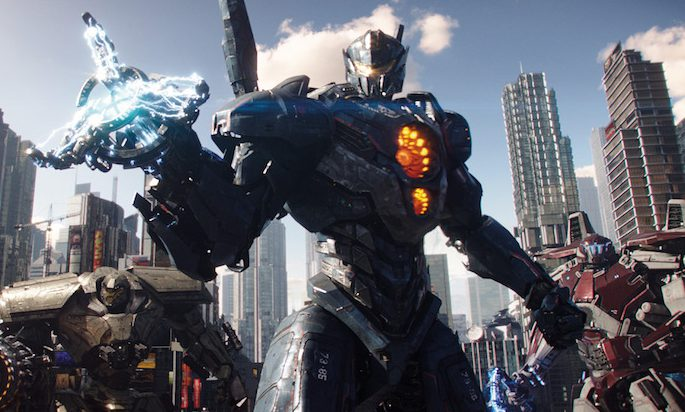 Kaijus in Pacific Rim Uprising