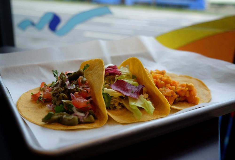 leckere Tacos mit Füllungen