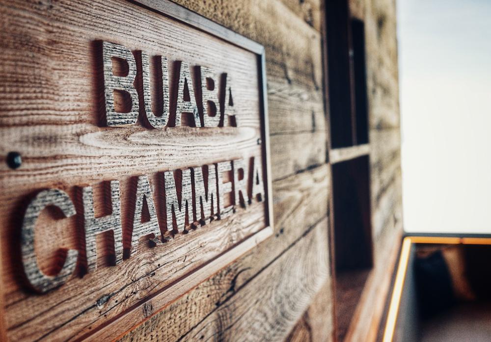 Holzwand Tafel & Zunder