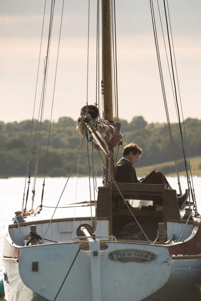 Donald Crowhurst als einsamer Segler
