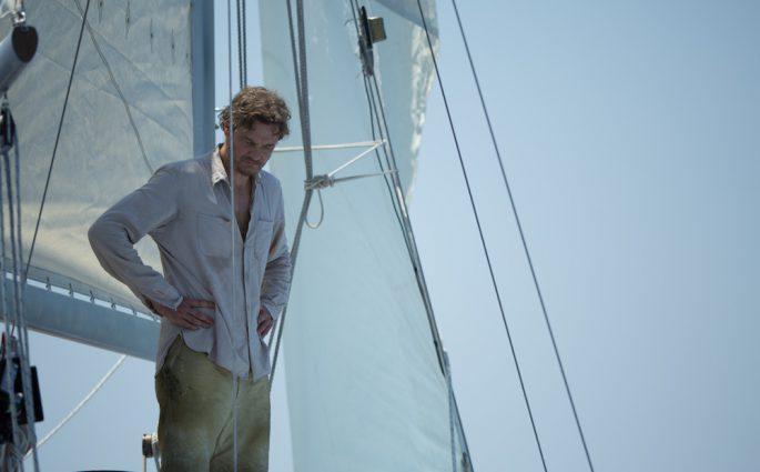 """Donald Crowhurst gespielt von Colin Firth in """"Vor uns das Meer"""""""