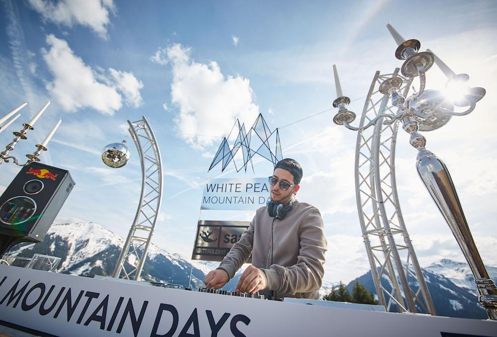 DJ bei den White Pearl Mountain Days