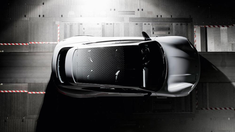 Glasdach des Porsche E Cross Turismo