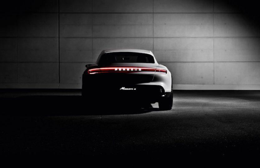The future is now: <br>Porsche Mission E Cross Turismo</br>