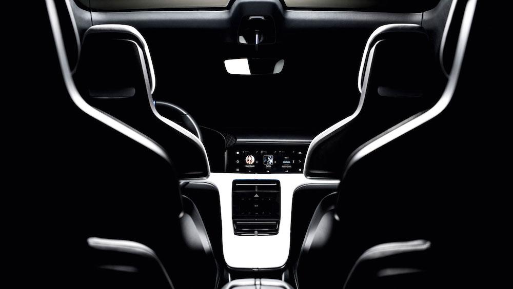 Innenraum Porsche E Cross Turismo