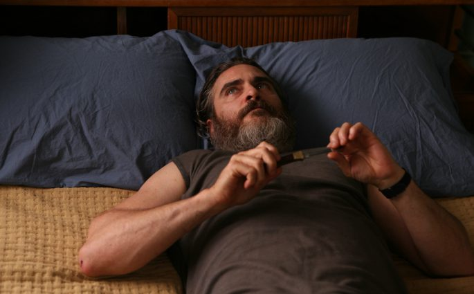 Joaquin Phoenix in A Beautiful Day