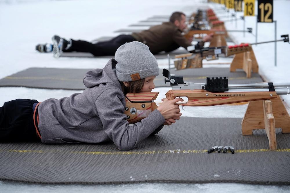 Biathlon Schnupperkurs Familie