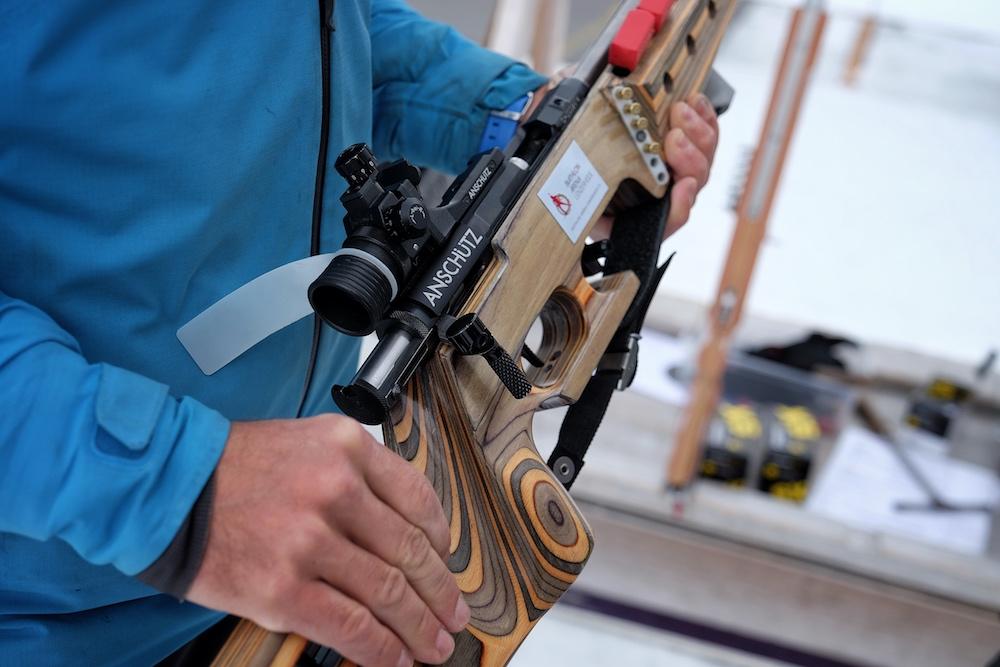 Biathlon Arena Lenzerheide Waffe