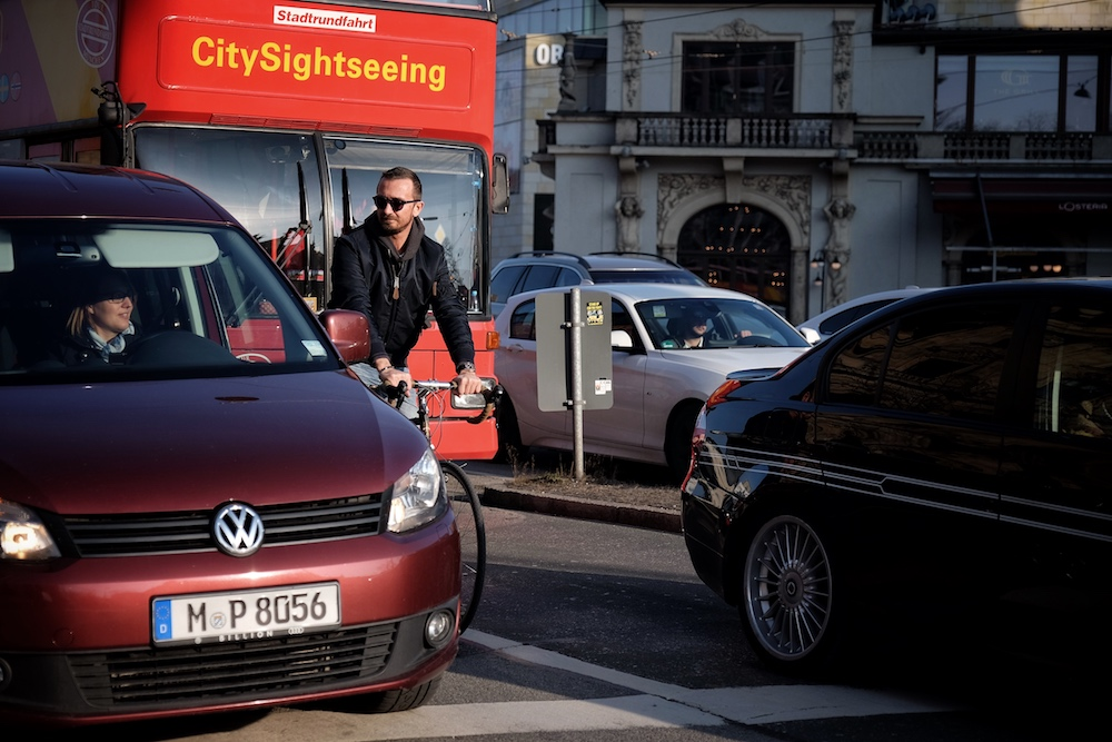 Verkehr Innenstadt Muenchen