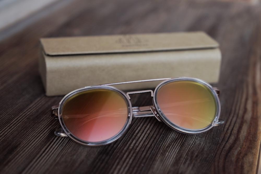 Einstoffen Sonnenbrille Alpinist