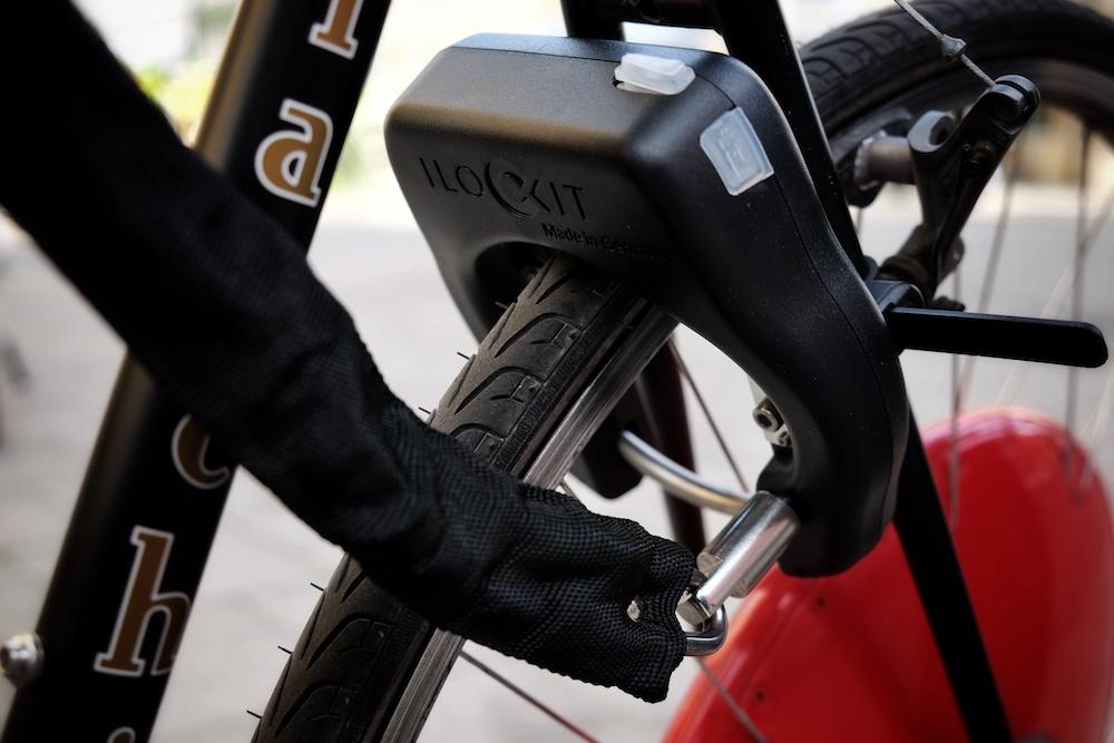 I lock it Fahrradschloss